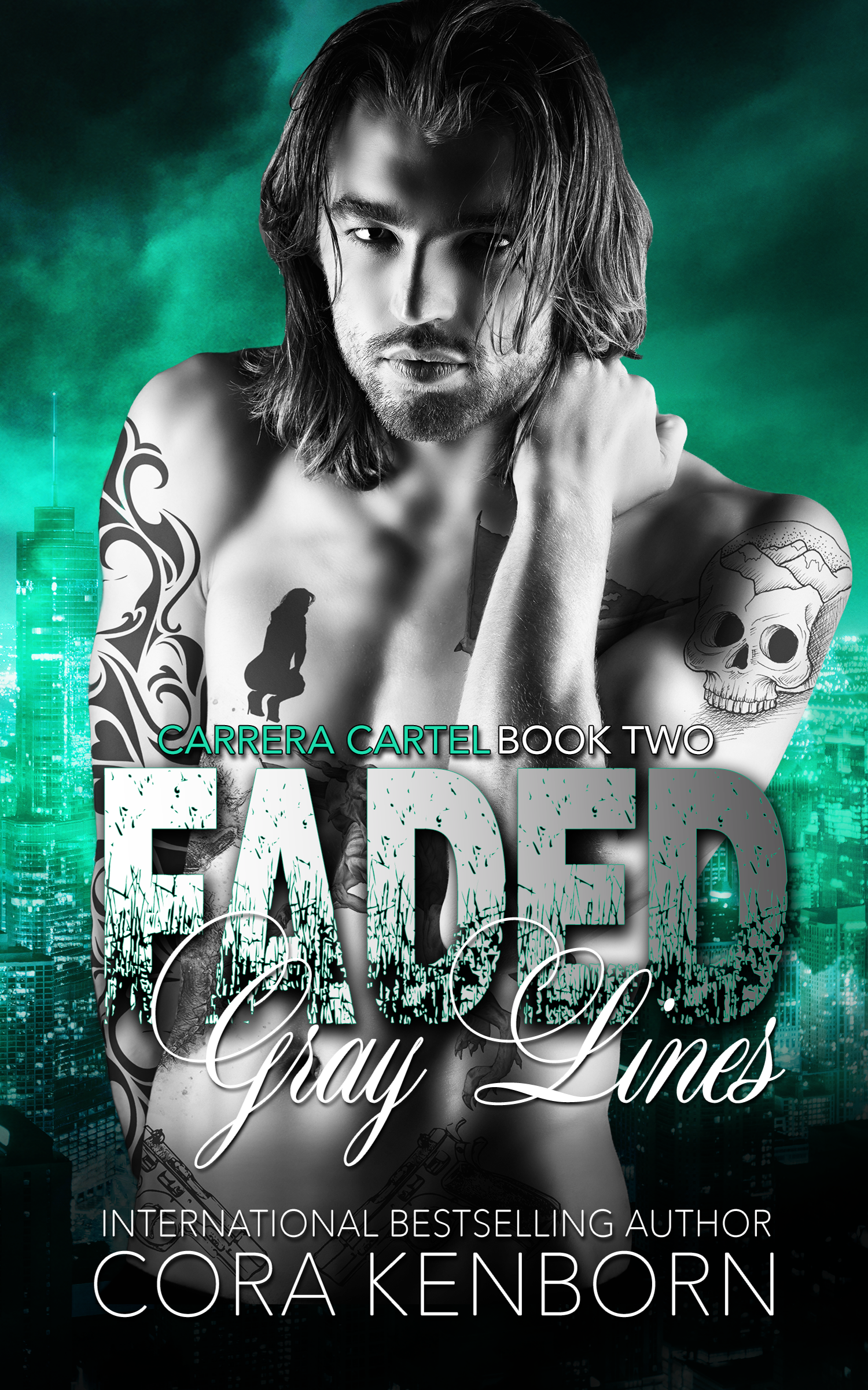 Faded Grey Lines by Cora Kenborn [Review]