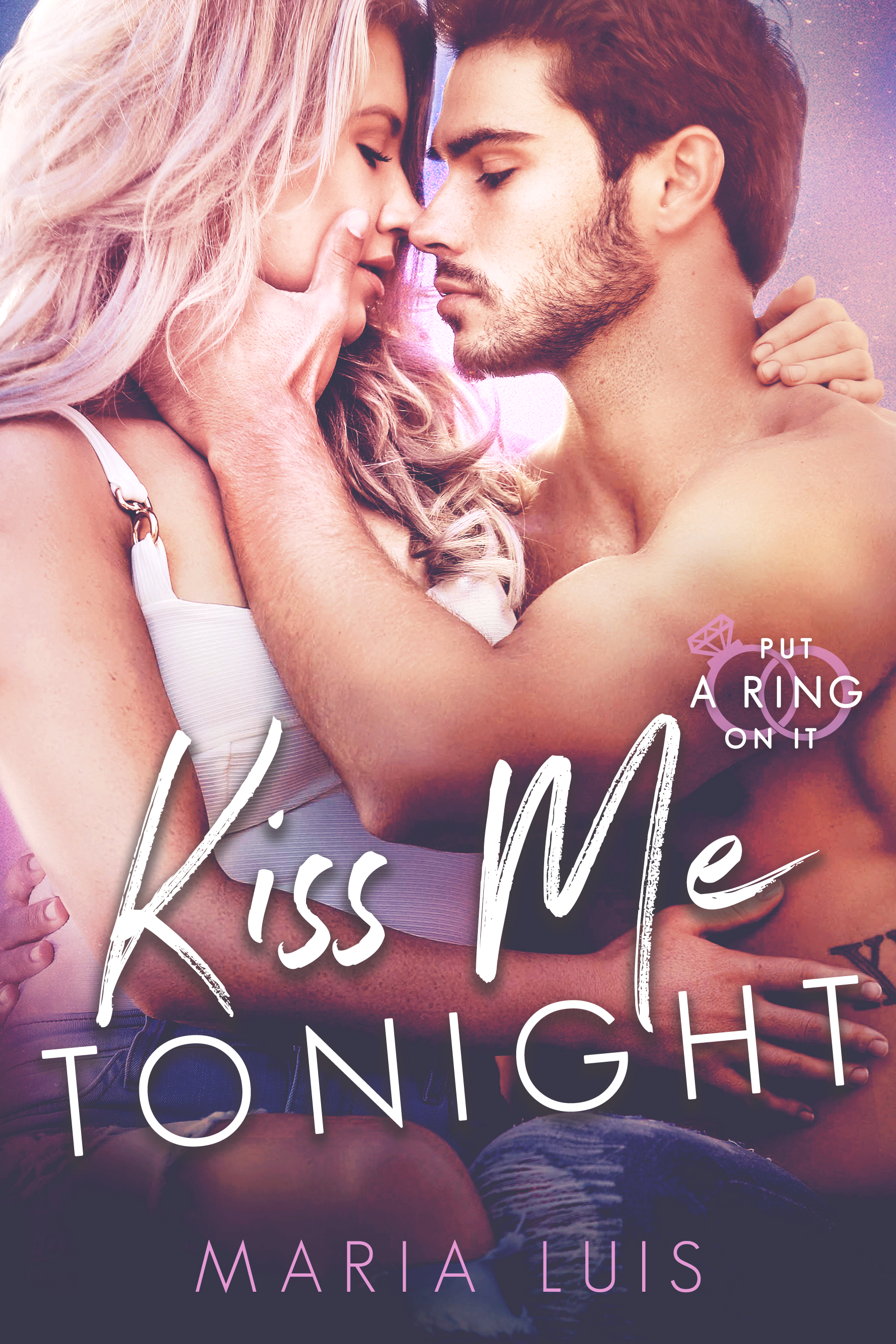 Kiss Me Tonight by Maria Luis [Cover Reveal]